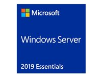 Microsoft Windows Server 2019 Essentials - Basislizenz - 1 - 2 CPU - ROK - DVD