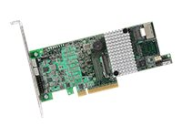 Broadcom MegaRAID SAS 9266-4i - Speichercontroller (RAID) - 4 Sender/Kanal - SATA 3Gb/s / SAS 6Gb/s - 6 Gbit/s - RAID 0, 1, 5, 6