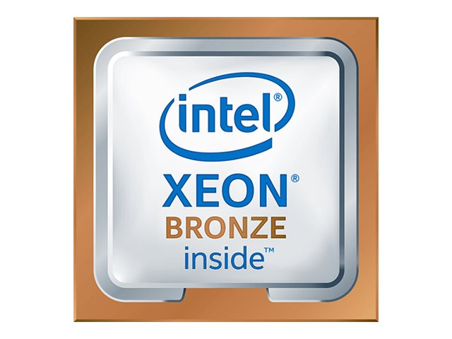 Intel Xeon Bronze 3104 - 1.7 GHz - 6 Kerne - 6 Threads - 8.25 MB Cache-Speicher - LGA3647 Socket
