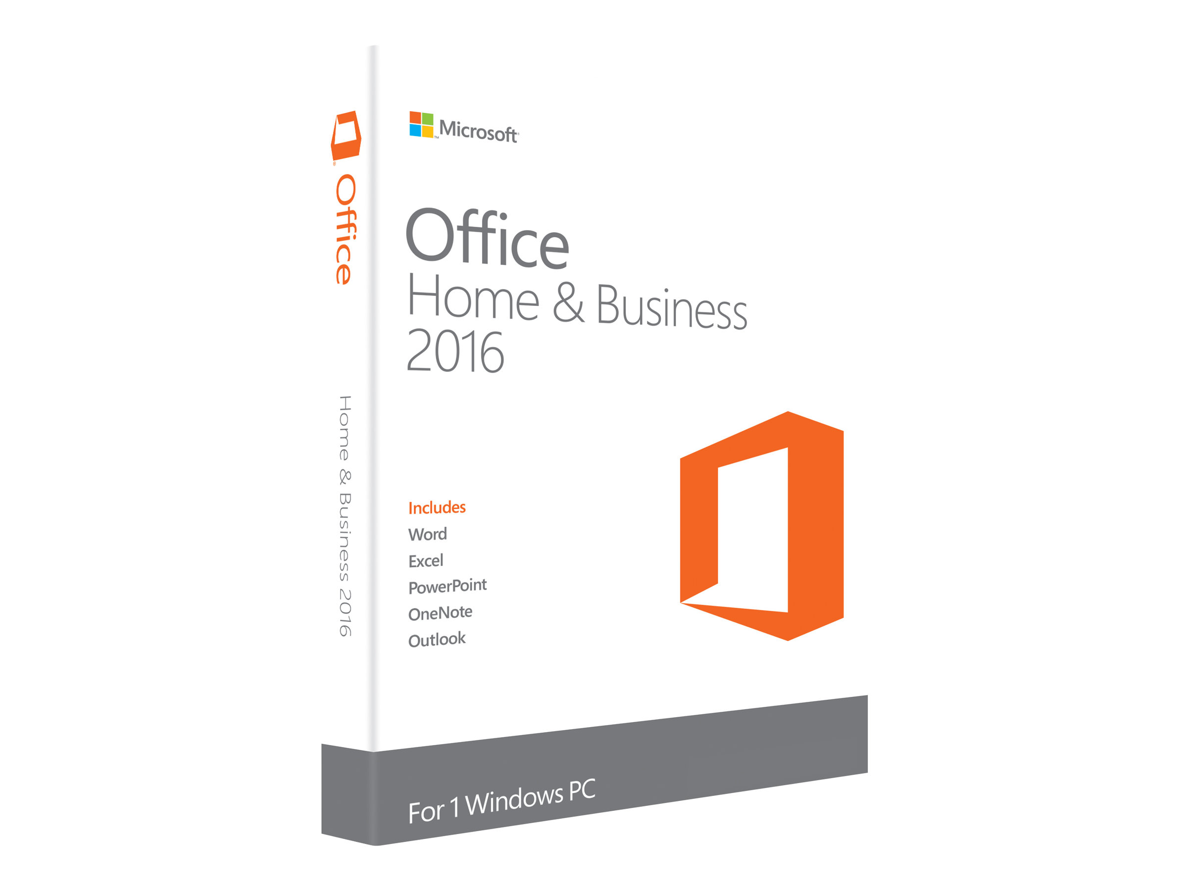 Microsoft Office Home and Business 2016 - Lizenz - 1 PC - ESD - Win - All Languages