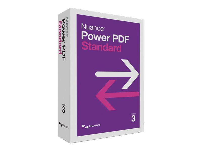 Nuance Power PDF Standard - (v. 3) - Box-Pack - 1 Benutzer - Win - Französisch