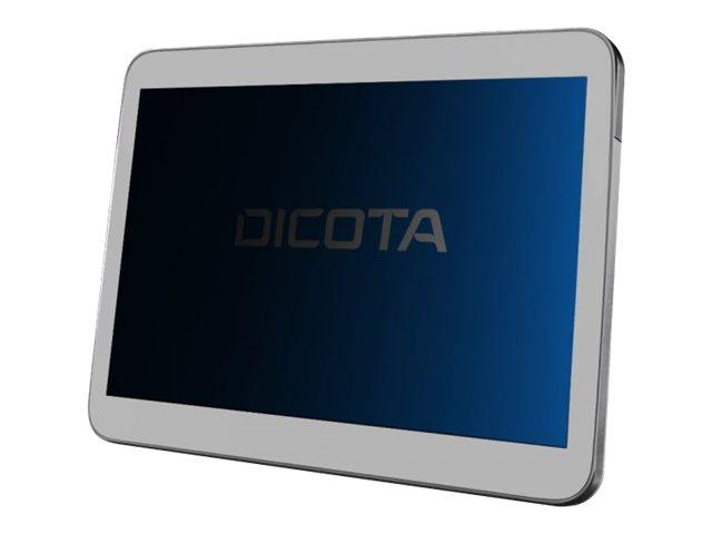 DICOTA Secret - Bildschirmschutz für Tablet - with privacy filter - 4-Wege - Plug-in - Schwarz