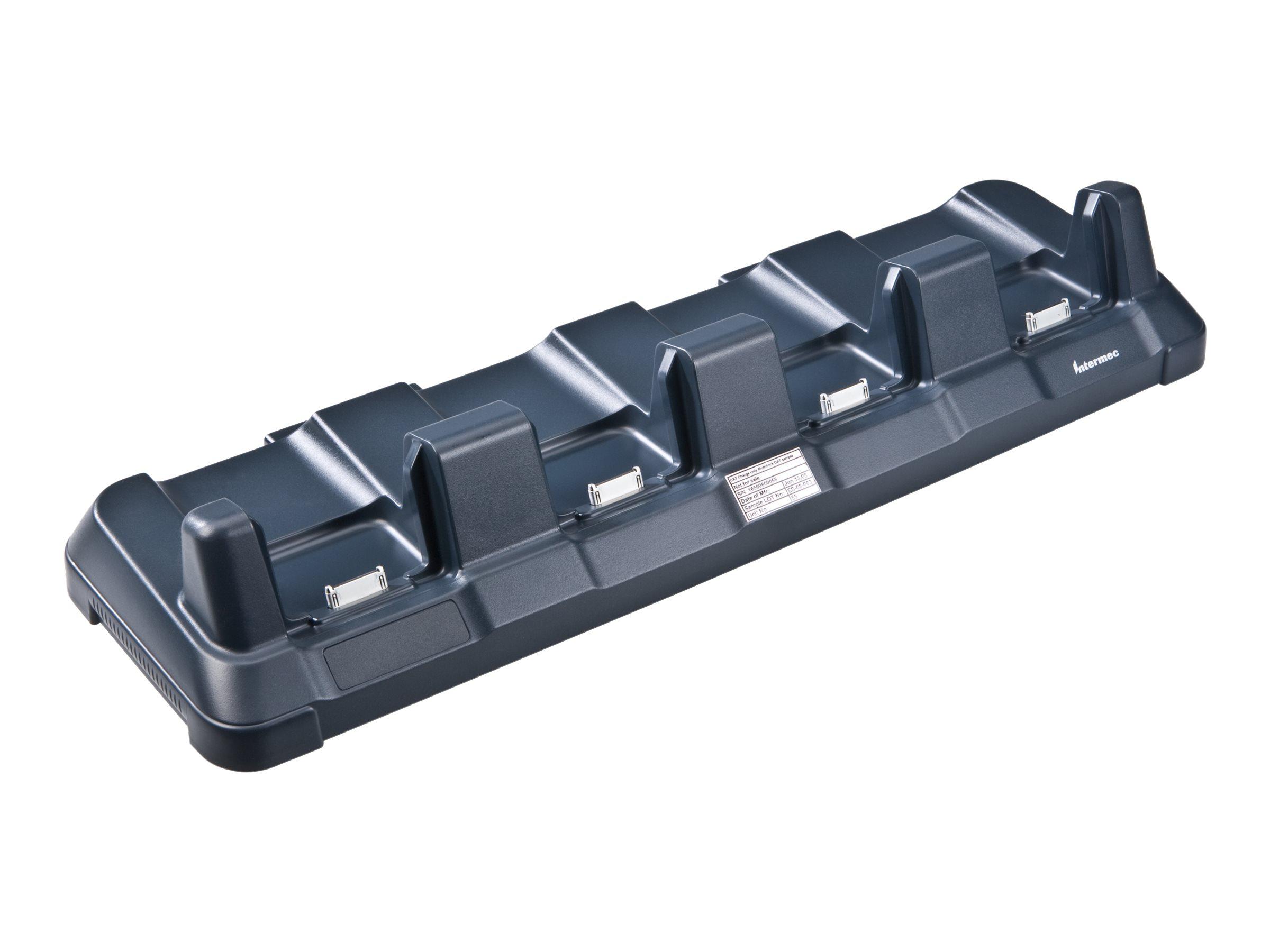 Intermec Multidock 4-slot - Docking Cradle (Anschlussstand) - Ethernet - für Dolphin CK65; Intermec CK3R, CK3X