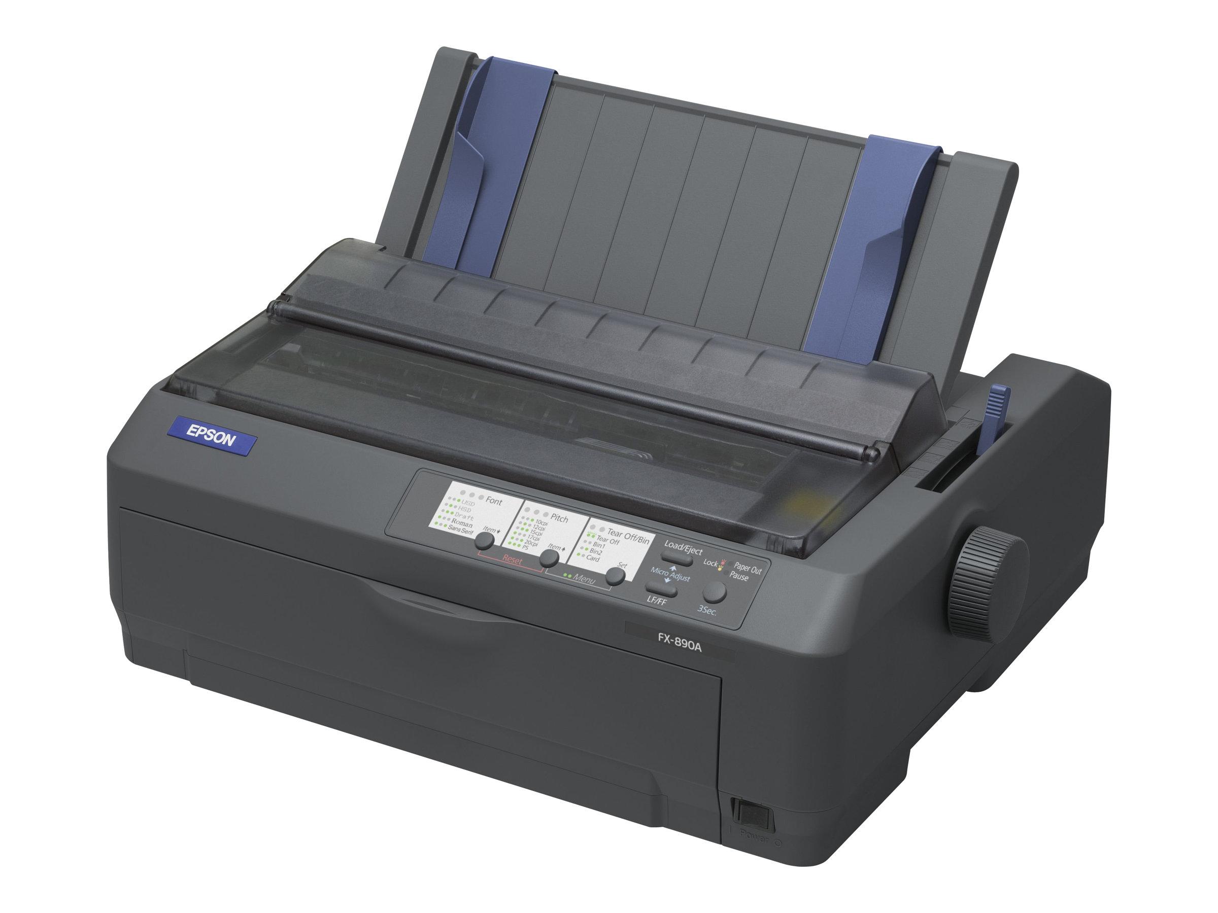 Epson FX 890A - Drucker - monochrom - Punktmatrix - 9 Pin - bis zu 680 Zeichen/Sek.