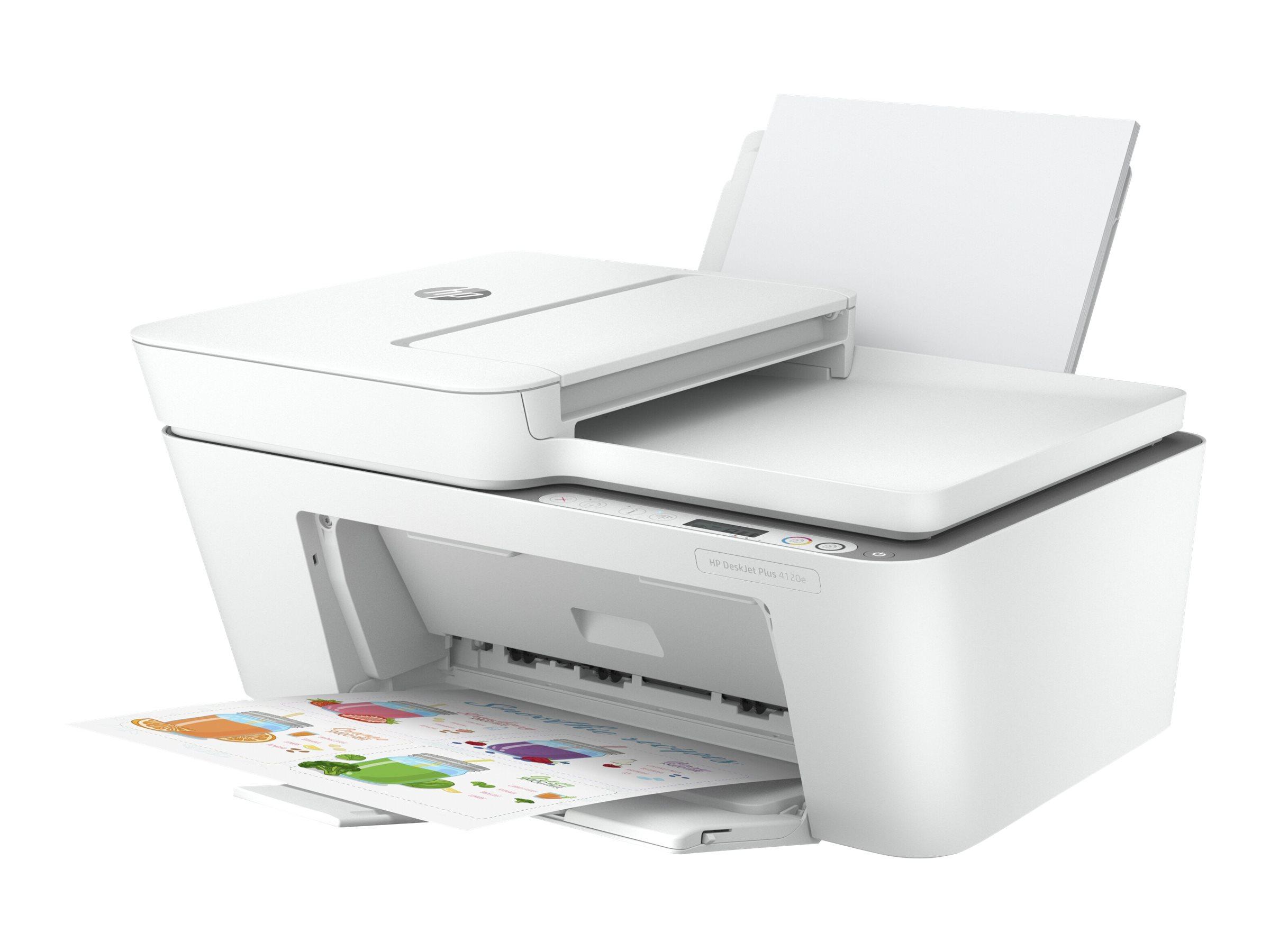 HP Deskjet 4120e All-in-One - Multifunktionsdrucker - Farbe - Tintenstrahl - A4 (210 x 297 mm) (Original) - A4/Legal (Medien)