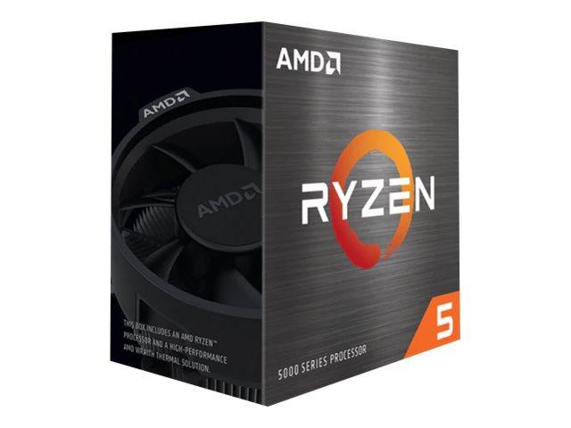 AMD Ryzen 5 5600X - 3.7 GHz - 6 Kerne - 12 Threads - 32 MB Cache-Speicher - Socket AM4