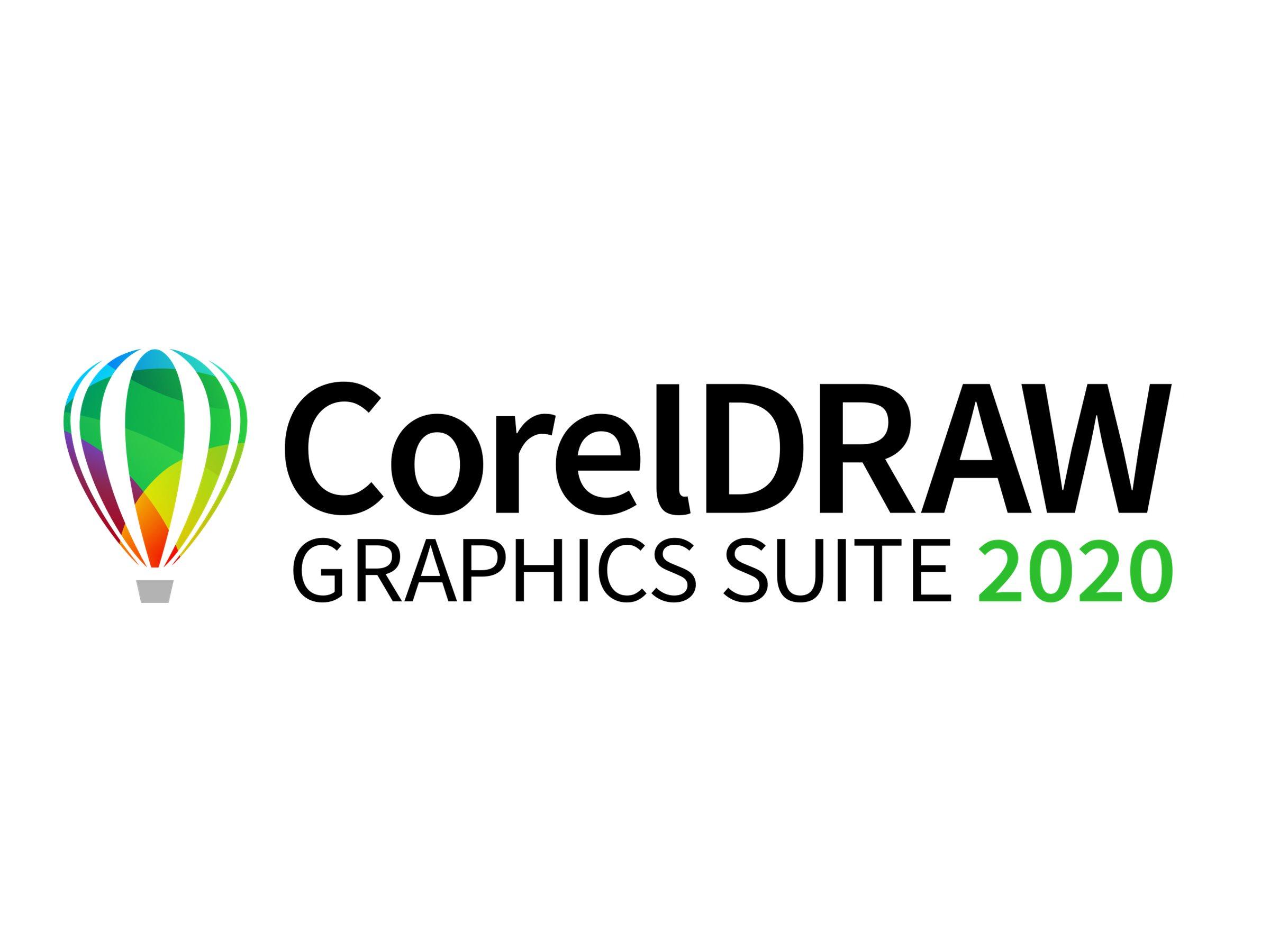CorelDRAW Graphics Suite 2020 - Lizenz - 1 Benutzer - Win - Englisch, Deutsch, Französisch