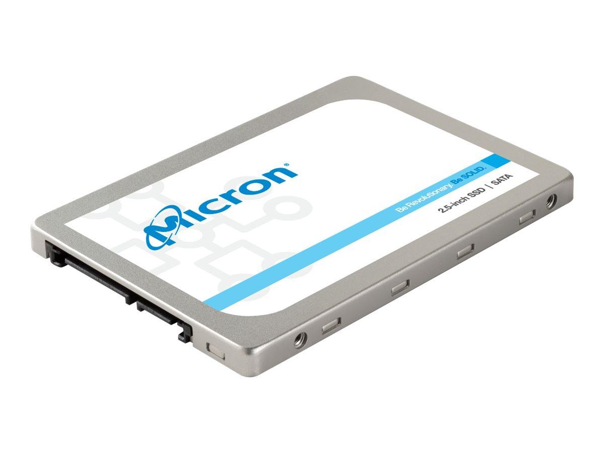 Micron - Solid-State-Disk - verschlüsselt - 256 GB - intern - 2.5