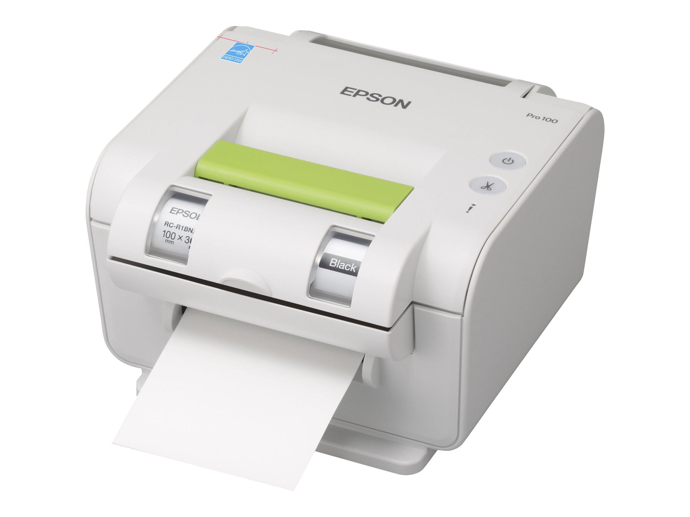 Epson LabelWorks Pro100 - Beschriftungsgerät - s/w - Thermodirekt / Thermotransfer - Rolle (1 cm) - 300 dpi