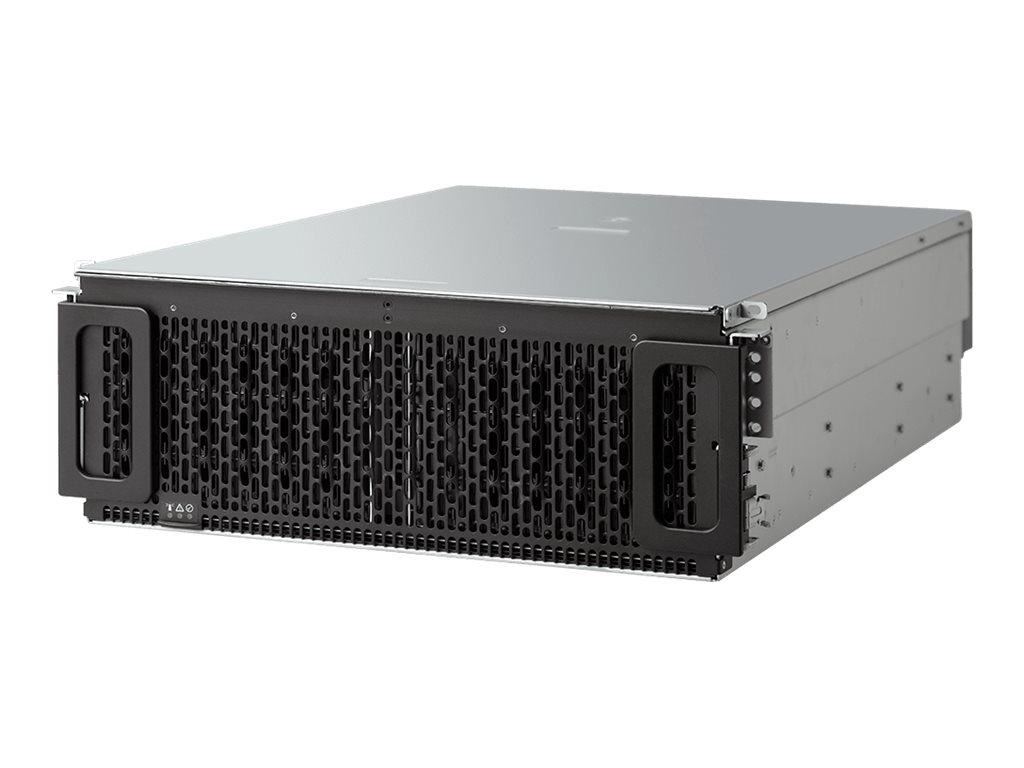 WD Ultrastar Data60 SE4U60-24 SE-4U60-10P05 - Speichergehäuse - 24 Schächte (SAS-3) - HDD 10 TB x 24 - Rack - einbaufähig