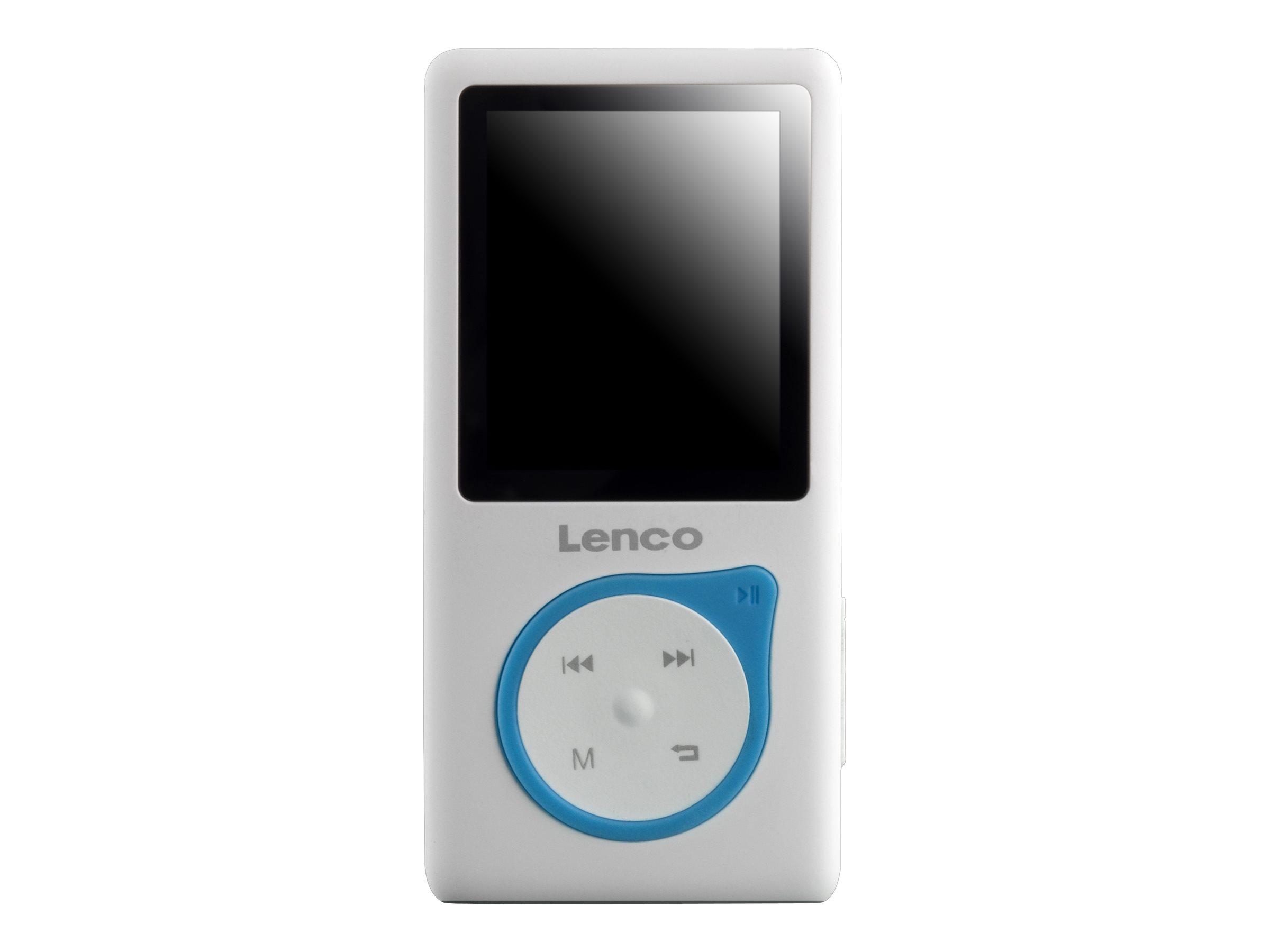 Lenco Xemio-657 - Digital Player - 4 GB - Blau