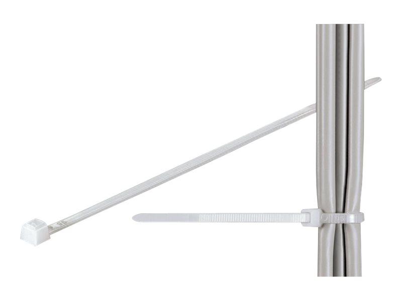 fixpoint - Kabelbinder - 40 cm - durchsichtig (Packung mit 100)