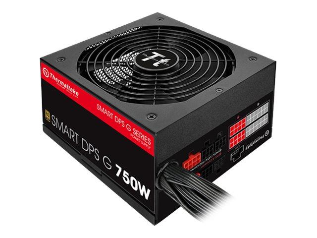 Thermaltake SMART DPS G 750W - Stromversorgung (intern) - ATX12V 2.31/ EPS12V 2.92 - 80 PLUS Gold - Wechselstrom 100-240 V - 750