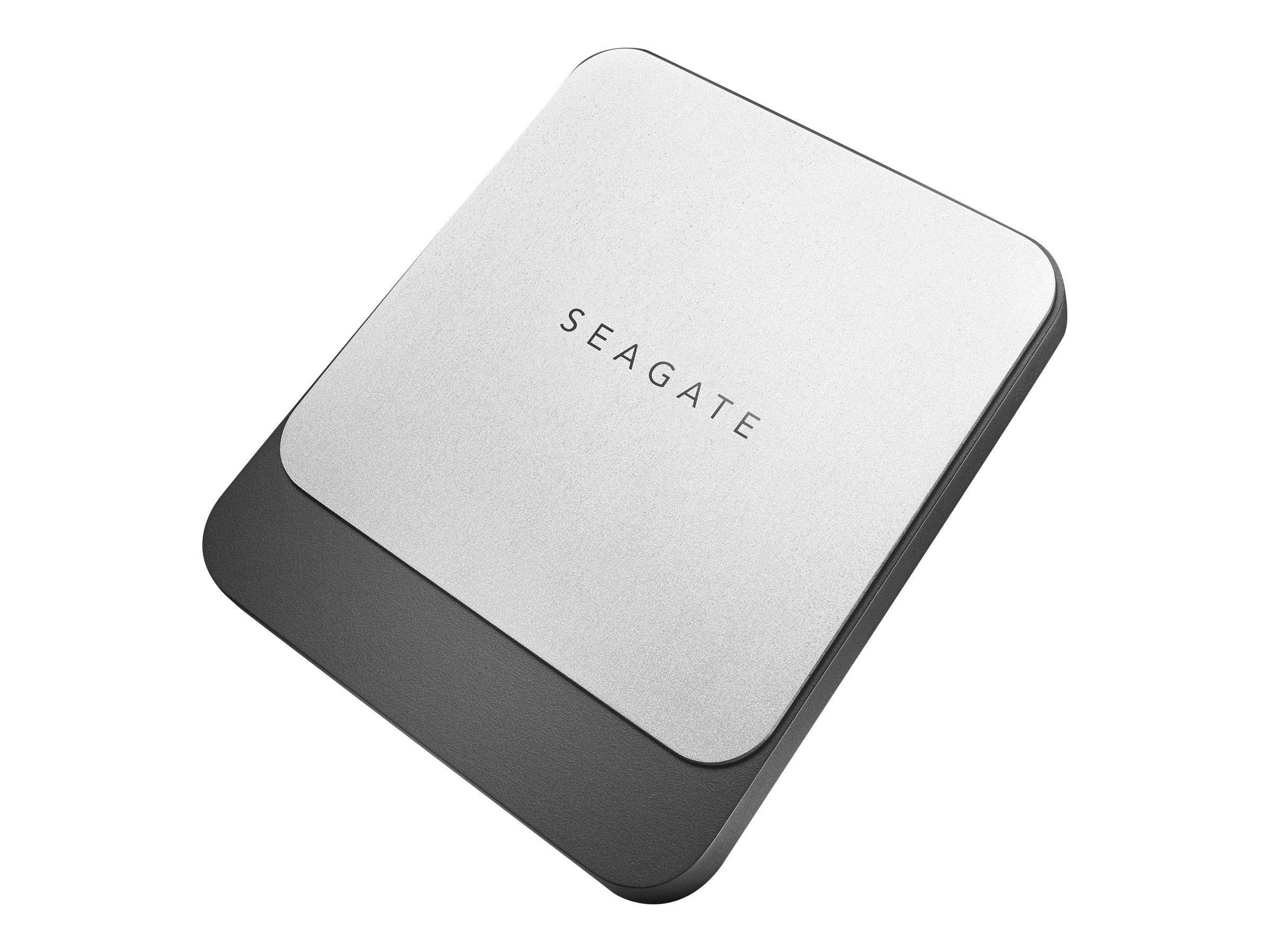 Seagate Fast STCM250400 - Solid-State-Disk - 250 GB - extern (tragbar) - USB 3.0 (USB-C Steckverbinder) - Schwarz