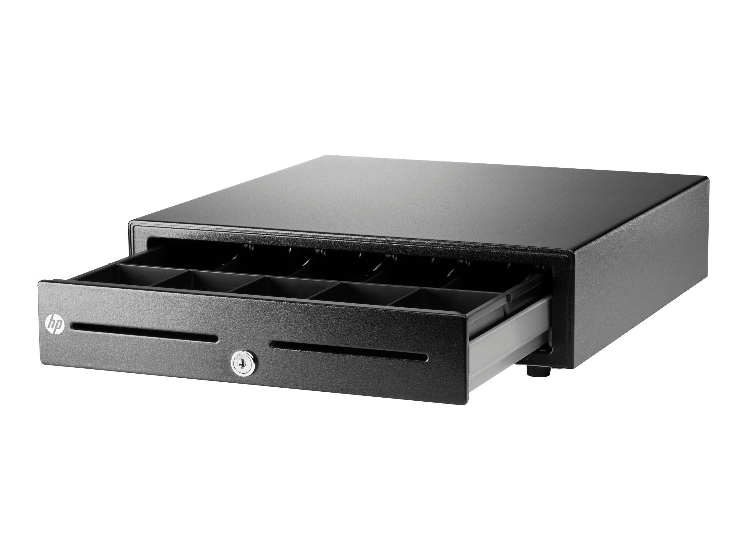 HP Standard Duty Cash Drawer - Elektronische Kassenschublade - Schwarz - für ElitePad 1000 G2; ElitePOS G1 Retail System; Engage