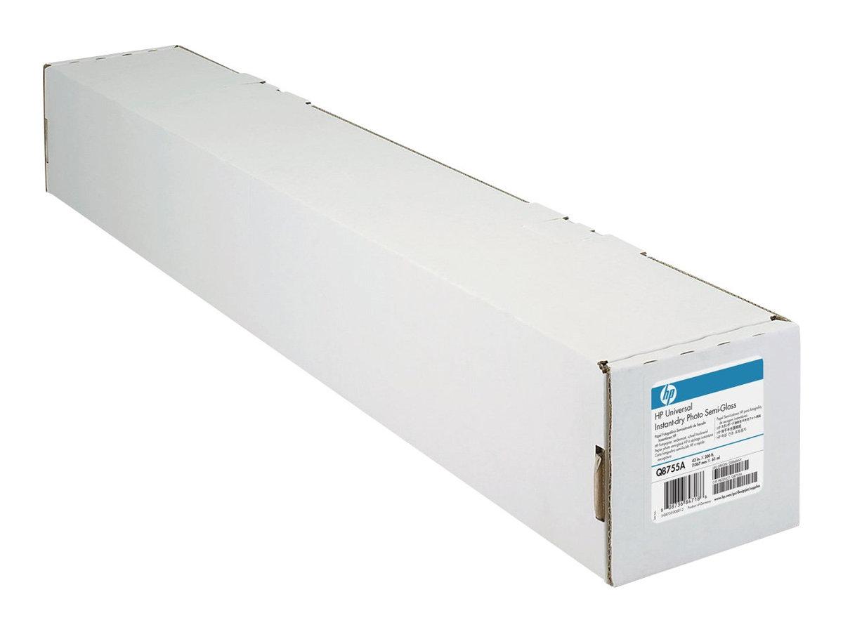 HP Universal - Polyethylen (PE), Holzfaser - halbglänzend - 7,9 mil - Roll (61 cm x 30,5 m) - 200 g/m²