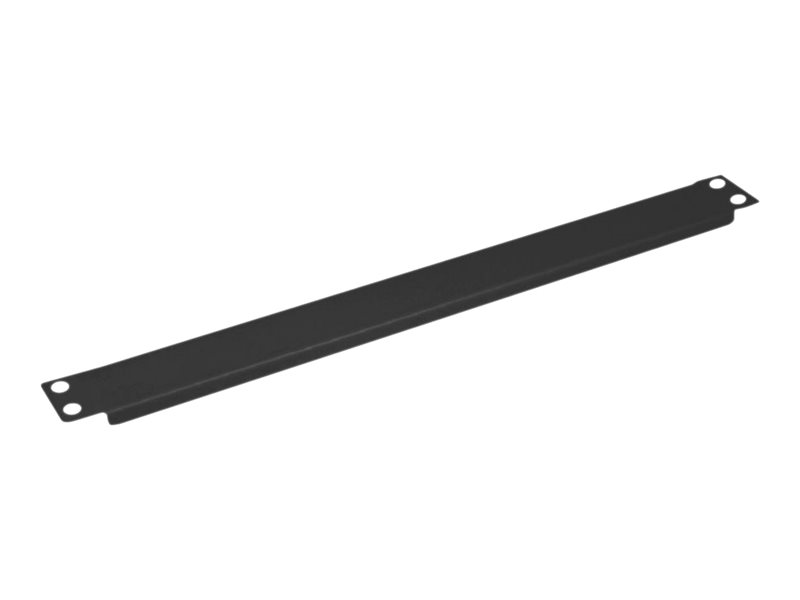 VALUE - Blindabdeckung - Schwarz, RAL 9005 - 1U - 48.3 cm (19