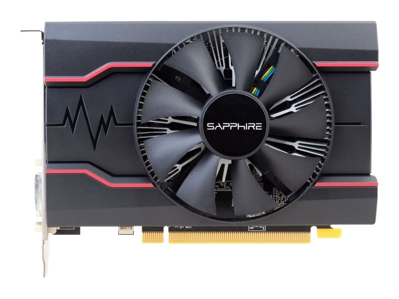 Sapphire Pulse Radeon RX 550 - Grafikkarten - Radeon RX 550 - 4 GB GDDR5 - PCIe 3.0 x16 - DVI, HDMI, DisplayPort