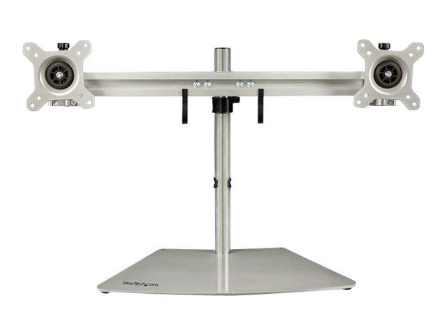 StarTech.com Dual Monitor Stand - Horizontal - Für bis zu 24