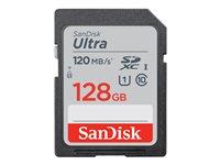 SanDisk Ultra - Flash-Speicherkarte - 128 GB - UHS-I U1 / Class10 - SDXC UHS-I
