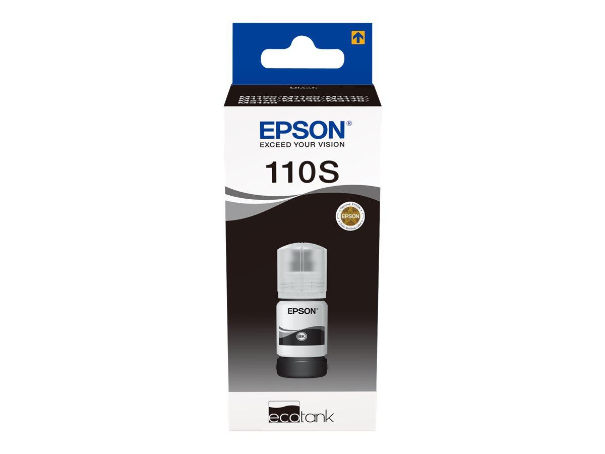 Epson EcoTank MX1XX Series - L-Grösse - Schwarz - Original - Nachfülltinte - für EcoTank ET-M1100, ET-M1120, ET-M1140, ET-M1180,