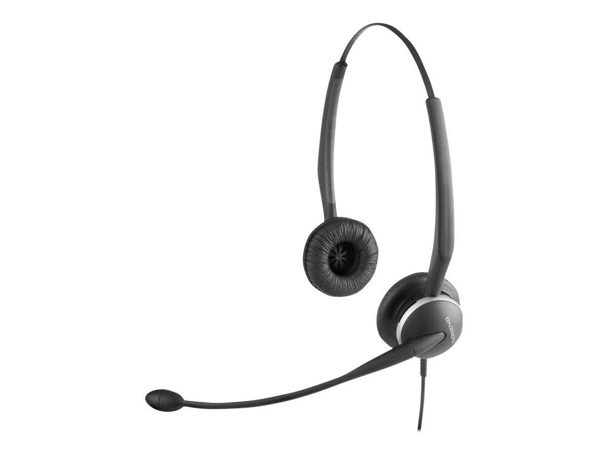 Jabra GN 2100 Telecoil - Headset - On-Ear - kabelgebunden