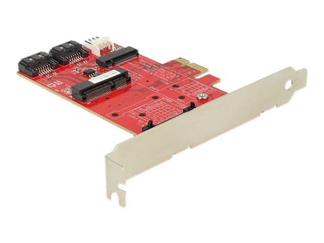 DeLOCK - Speicher-Controller - SATA 3Gb/s / PCIe - 300 MBps - PCIe x1
