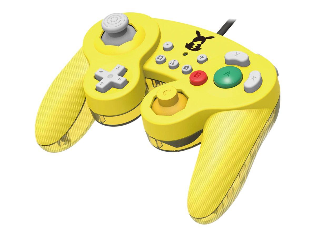 HORI Battle Pad (Pikachu) - Game Pad - kabelgebunden - für Nintendo Switch