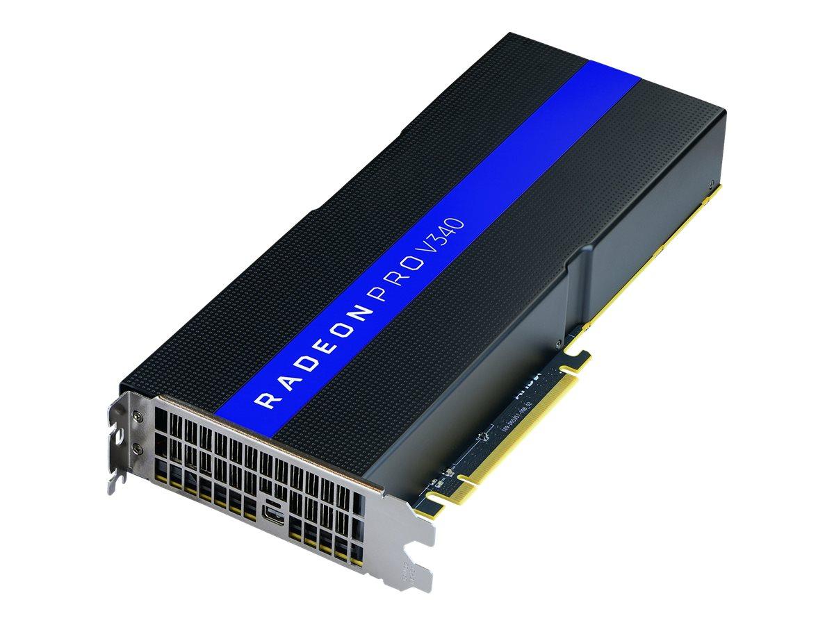 AMD Radeon Pro V340 - Grafikkarten - Radeon Pro V340 - 32 GB HBM2 - PCIe 3.0 x16 - für ProLiant DL380 Gen10