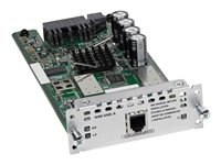 Cisco 1-port VDSL2/ADSL2+ over POTS with Annex A - DSL-Modem - Network Interface Module (NIM) - für Cisco 4451-X; Integrated Ser