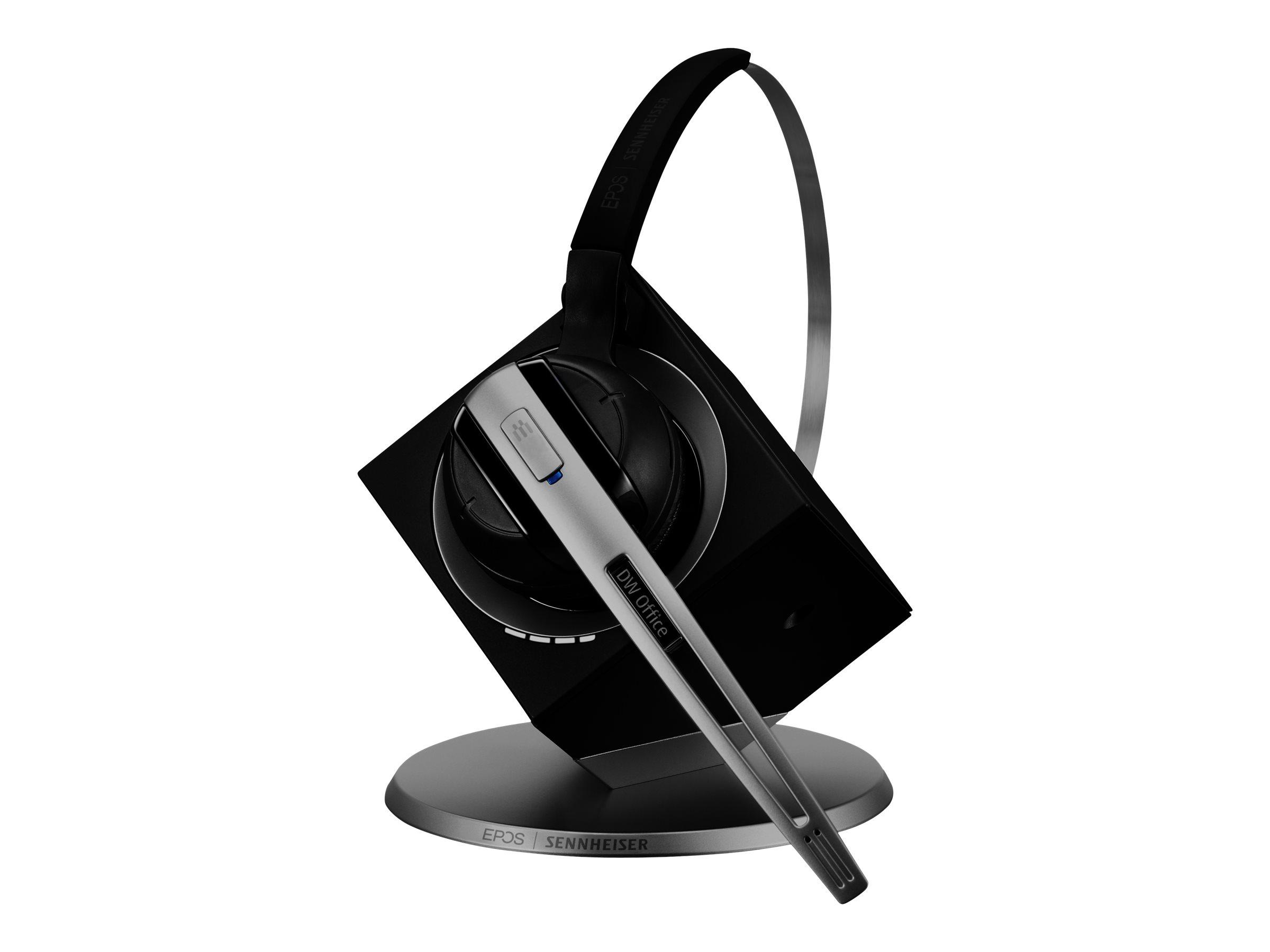EPOS I SENNHEISER DW Office 10 ML - Call Center & Office - Headset - konvertierbar - DECT CAT-iq - kabellos