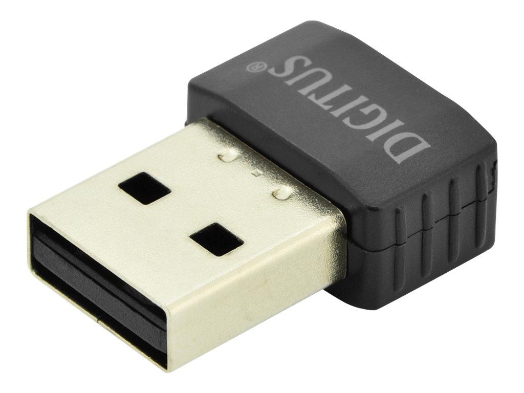 DIGITUS DN-70565 - Netzwerkadapter - USB 2.0 - 802.11ac