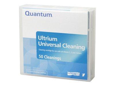 Quantum - LTO Ultrium - Mit Strichcodeetikett - Schwarz - Reinigungskassette