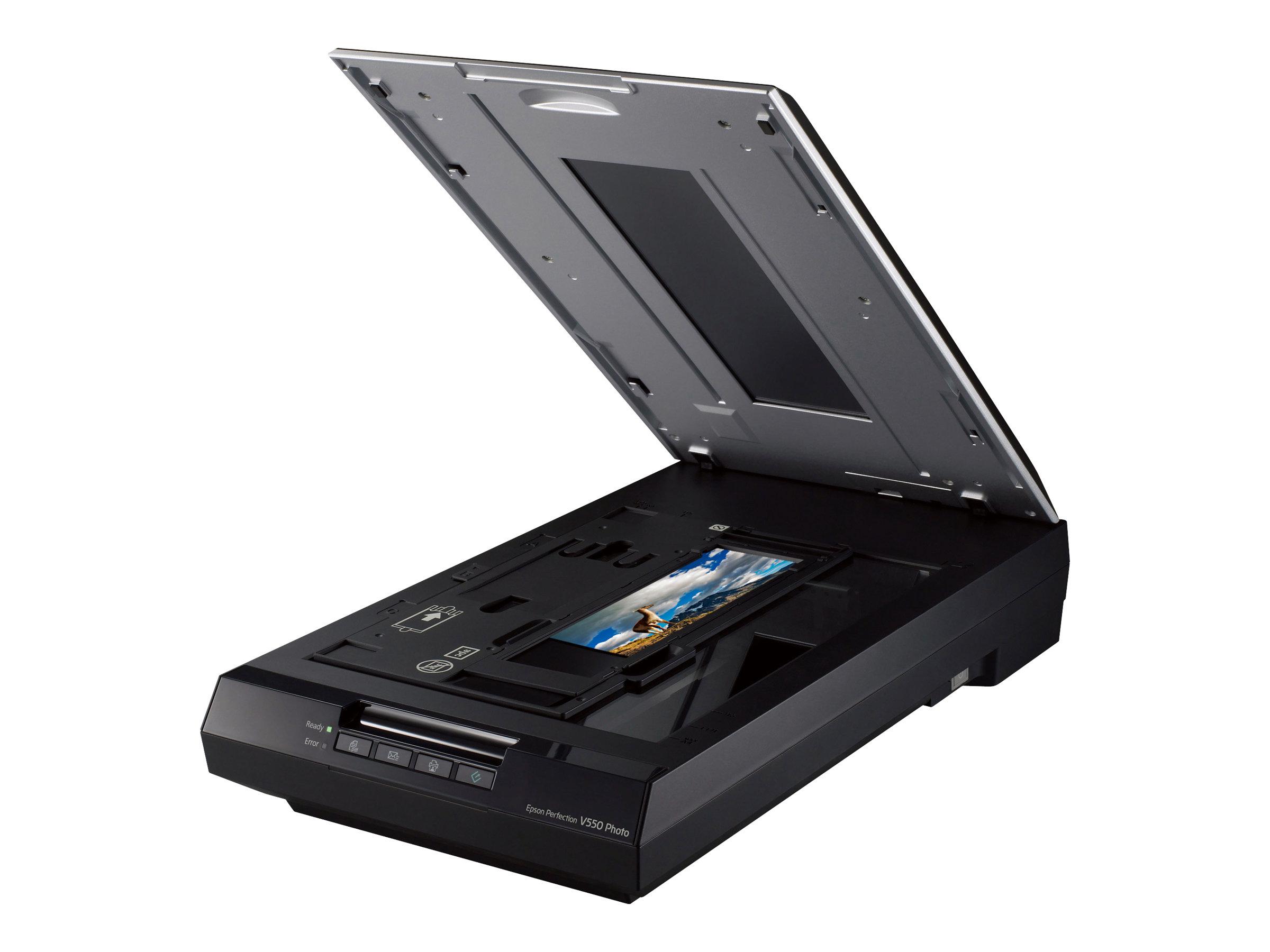 Epson Perfection V550 Photo - Flachbettscanner - A4 - 6400 dpi x 9600 dpi - USB 2.0