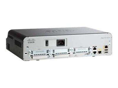 Cisco 1941 VPN ISM Module HSEC Bundle - Router - GigE - WAN-Ports: 2 - an Rack montierbar
