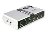 DeLOCK USB Sound Box 7.1 - Soundkarte - 7.1 - USB 2.0