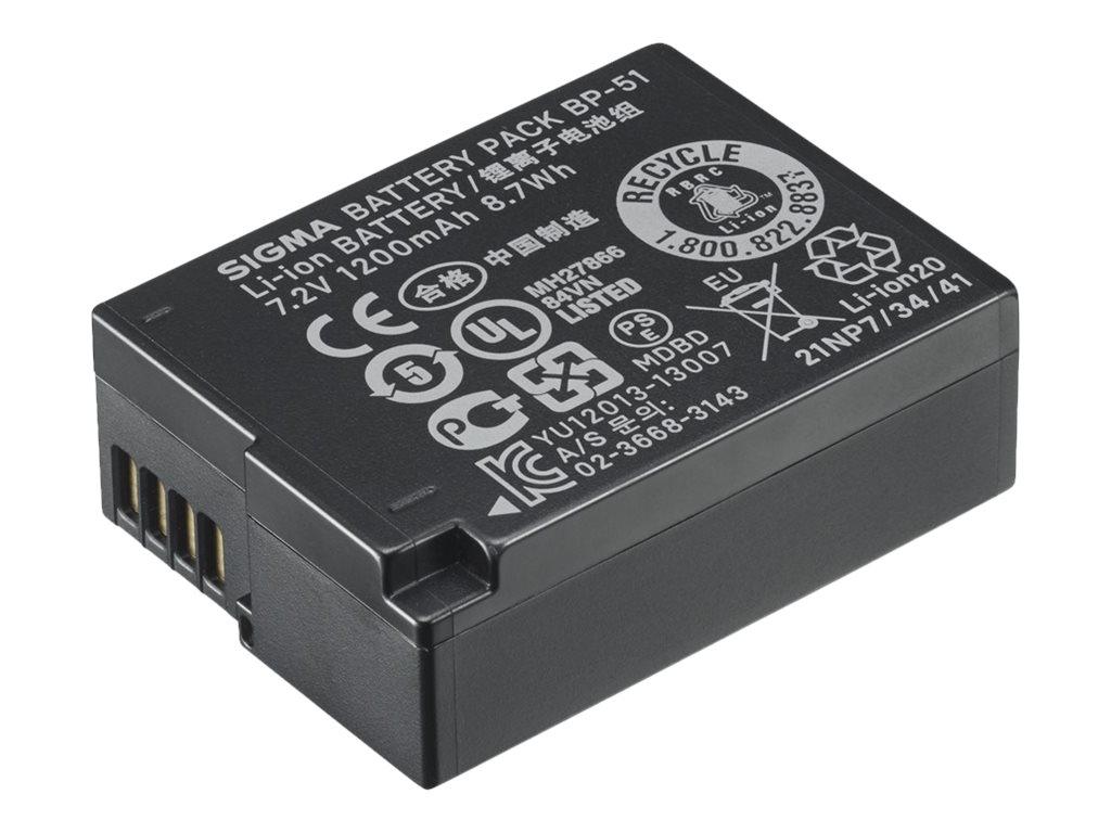 Sigma BP-51 - Batterie - Li-Ion - 1200 mAh - für Sigma DP2 Quattro