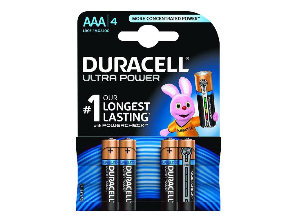 Duracell Ultra MX 2400 - Batterie 4 x AAA-Typ - Alkalisch