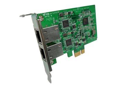 QNAP LAN-1G2T-I210 - Netzwerkadapter Low-Profile - Gigabit Ethernet x 2 - für QNAP TS-1277, 1283, 1683, 2477, 2483, 877, 883, 97