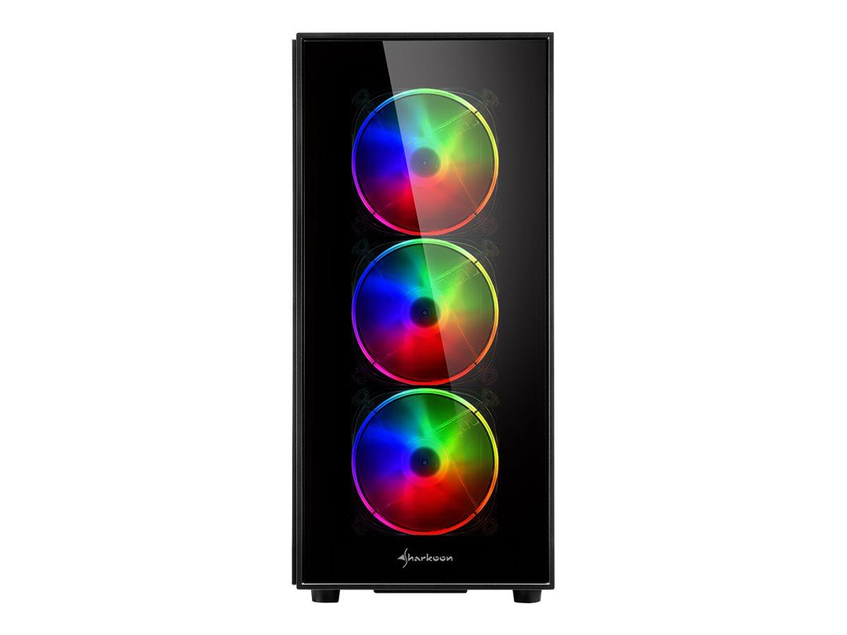 Sharkoon TG5 PRO RGB - Tower - ATX - ohne Netzteil - USB/Audio