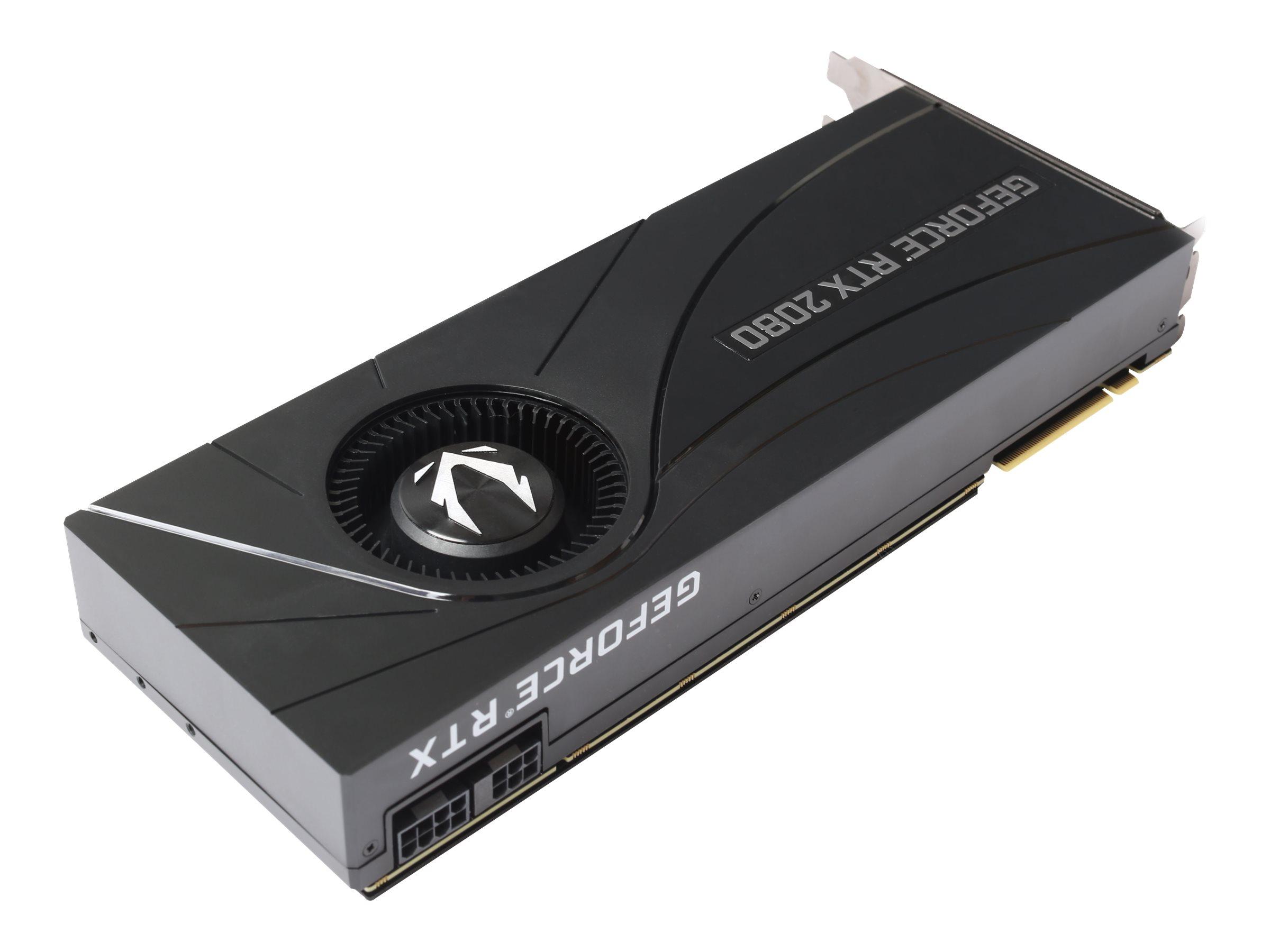 ZOTAC GAMING GeForce RTX 2080 Blower - Grafikkarten - GF RTX 2080 - 8 GB GDDR6 - PCIe 3.0 x16 - HDMI, 3 x DisplayPort, USB-C