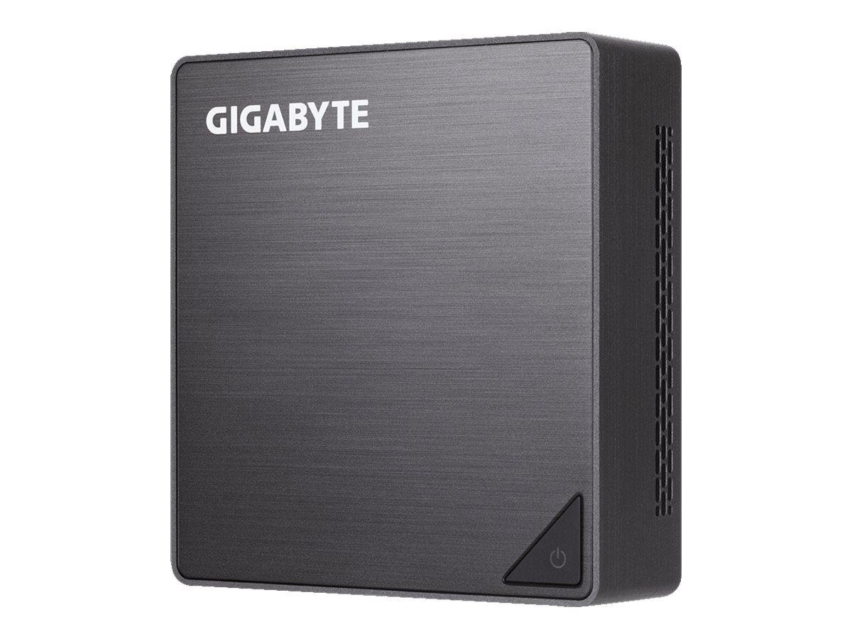 Gigabyte BRIX GB-BRi3-8130 (rev. 1.0) - Barebone - Ultra Compact PC Kit - 1 x Core i3 8130U / 2.2 GHz - UHD Graphics 620 - GigE
