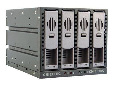 Chieftec SST-3141SAS - Gehäuse für Speicherlaufwerke mit Lüfter - 3.5