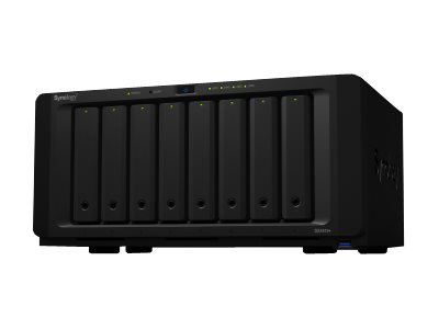 Synology Disk Station DS1819+ - NAS-Server - 8 Schächte - SATA 6Gb/s - RAID 0, 1, 5, 6, 10, JBOD - RAM 4 GB