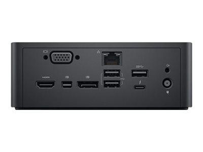 Dell Dual USB-C Thunderbolt Dock TB18DC - Dockingstation - USB-C / Thunderbolt 3 - VGA, HDMI, DP, Mini DP, Thunderbolt - GigE -