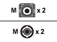 Black Box Laser-Enhanced Patch Cable - Patch-Kabel - ST multi-mode (M) bis SC multi-mode (M) - 5 m - Glasfaser - 50/125 Mikromet