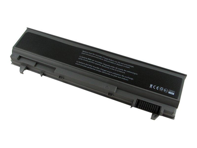V7 - Laptop-Batterie - 1 x Lithium-Ionen 6 Zellen 5200 mAh - für Dell Latitude E6400, E6410, E6500; Precision Mobile Workstation