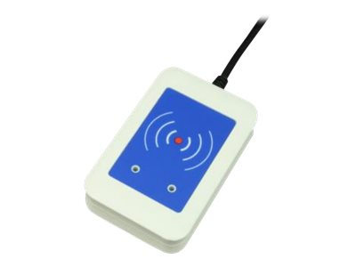 Elatec TWN4 Mifare NFC-PI - NFC- / RFI-Lesegerät - USB - 125 KHz / 134.2 KHz / 13.65 MHz - weiss