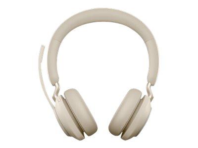 Jabra Evolve2 65 UC Stereo - Headset - On-Ear - Bluetooth - kabellos - USB-A