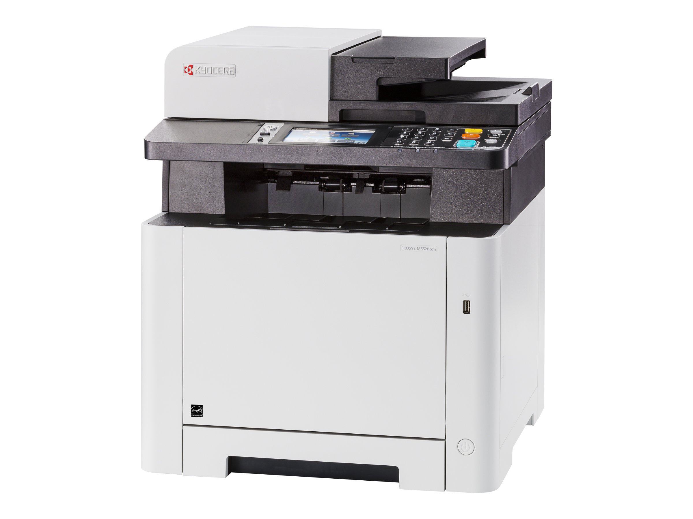 Kyocera ECOSYS M5526cdn - Multifunktionsdrucker - Farbe - Laser - Legal (216 x 356 mm)/A4 (210 x 297 mm) (Original) - A4/Legal (